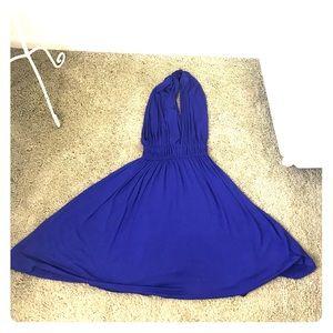 Forever 21 Royal Blue Marilyn Monroe-like Dress